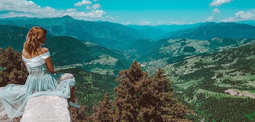 Тропа в небо – дорога ведущая к крепости Хихани