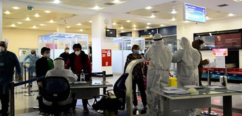 Barcelona-Batumi special flight with 177 people returned to their homeland
