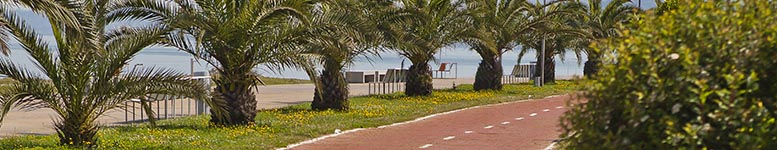 One of the longest seaside boulevards in the world