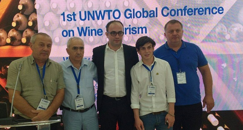Chairman attending International Wine Tourism Conference