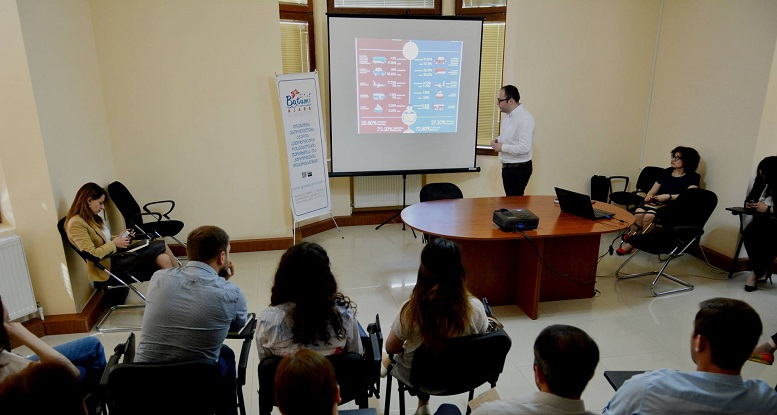 Presentation of foreign visitors' survey results in the Department of Tourism of Ajara