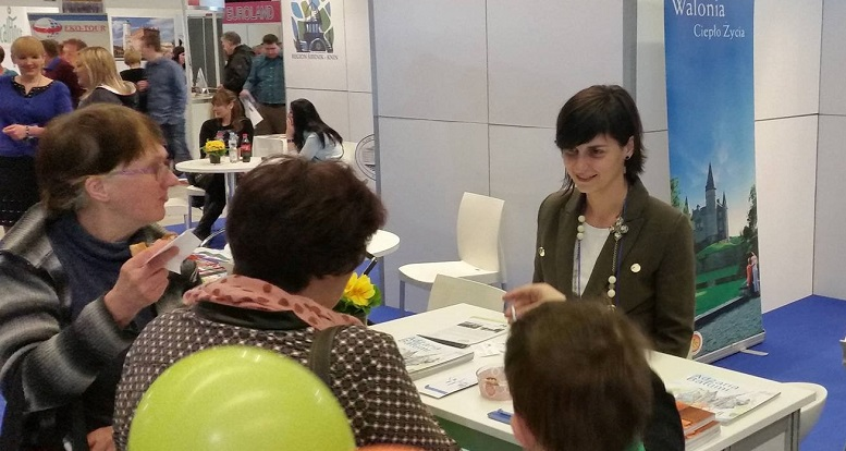 Department at Catowice International Tourism Exhibition