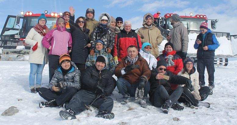 "Travel agencies are visiting resort ""Goderdzi"""