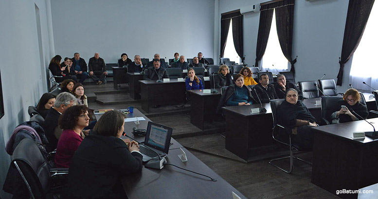 Presentation of project ''Recommended'' in Kobuleti