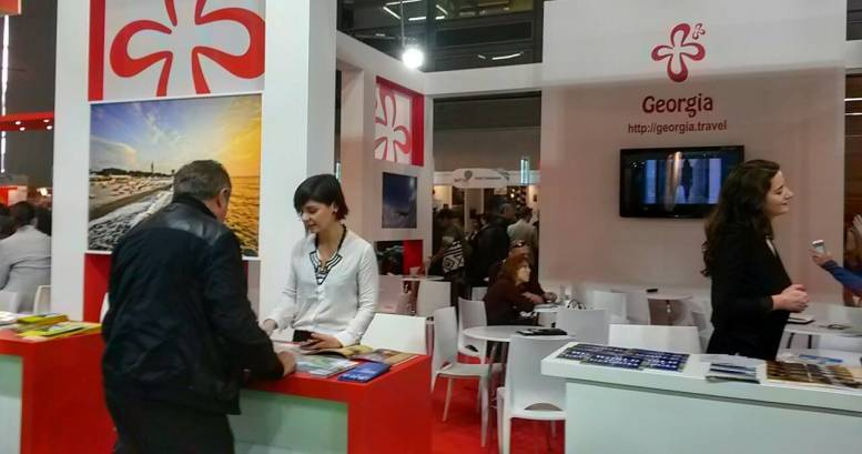 Ajara stand is distinguished with a large number of guests at Tel Aviv International Exhibition