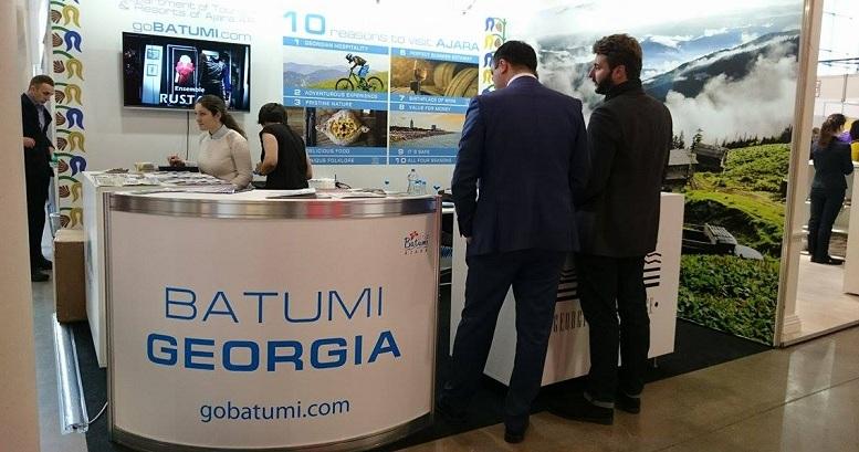 Ajara Tourism Department at Vilnius International Exhibition