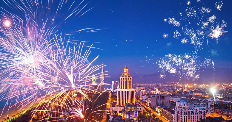 New Year Events in the Hotels and Restaurants