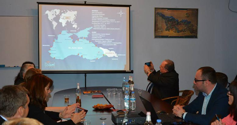 A visit of delegation from Brandenburg to the Department of tourism