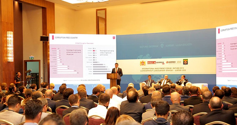 Batumi hosts an international investment forum ''Batumi 2015''